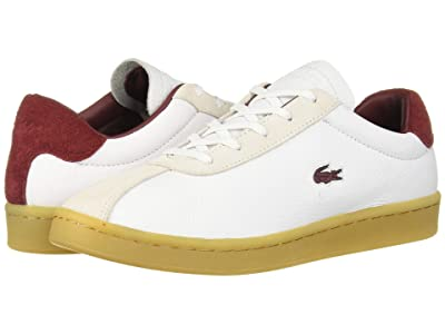 Lacoste Masters 319 2 (White/Dark Red) Women