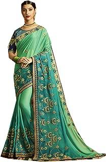 Indian Sarees for Women Designer Party Wear Traditional Sari.