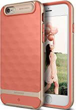 TOBOS Parallax for Apple iPhone 6S Case (2015) / for iPhone 6 Case (2014) - Coral Pink