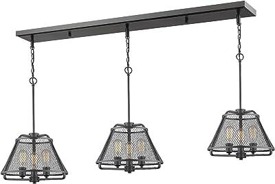 Amazon.com: Lámpara de techo industrial con lámpara de araña ...