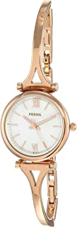 Fossil Analog Mother of Pearl Dial Women's Watch-ES4500