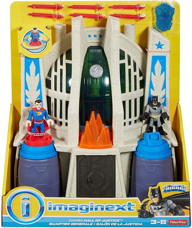 edición limitada Imaginext Batman vs súperman Hall of