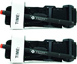 Tourniquet - (Black) Recon Medical Gen 3 Mil-Spec Kevlar Metal Windlass Aluminum First Aid Tactical Swat Medic Pre-Hospita...