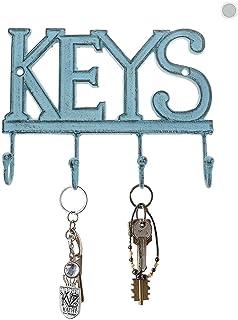 Keys Lanyard Gift Blue Flur Key Fob Key Hanger