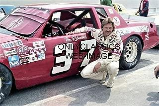 OnlyClassics 1981 Tim Richmond Daytona Speedway FOLGERS Coffee Stock CAR NASCAR 8X12 Photo