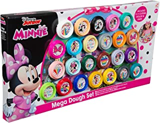 Sambro Dmm10-4719 Minnie 24 Piece Mega Dough Set, For 3 Years & Above