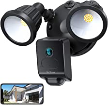 Victure 1080P AI Floodlight Camera, HD Security Camera Outdoor with Motion-Activated Detection, Smart Alarm, IP55 Waterpro...