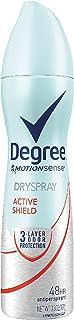 Degree Women Antiperspirant Deodorant Dry Spray, Active Shield, 3.8 oz