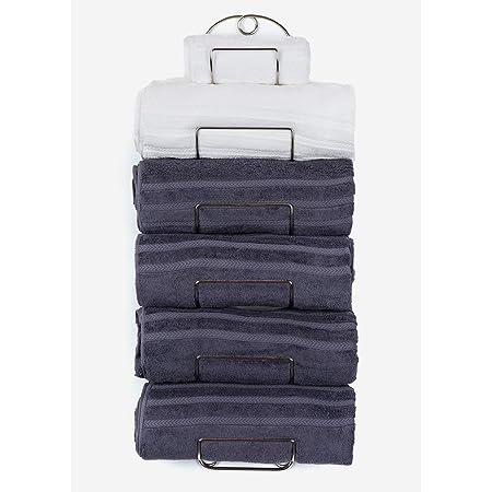 Details about  / Towel Rack Wall Mounted Metal Wine Rack Towel Shelf for Bathroom Chrome Chrome