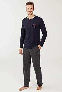 U.S. Polo Assn. 18248 Erkek Patlı Pijama Takım