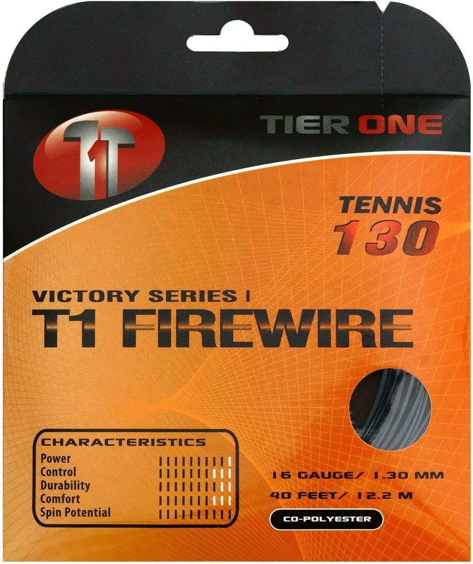 Tier One Manufacturer direct delivery Sports T1-Firewire - Popular overseas Ultimate Tennis Co-Poly for String