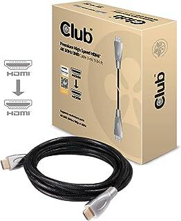 Club 3D HDMI 2.0 4K 60Hz UHD / 4K ディスプレイ 認証付プレミアム・ハイスピード・ケーブル Cable 3m (CAC-1310)