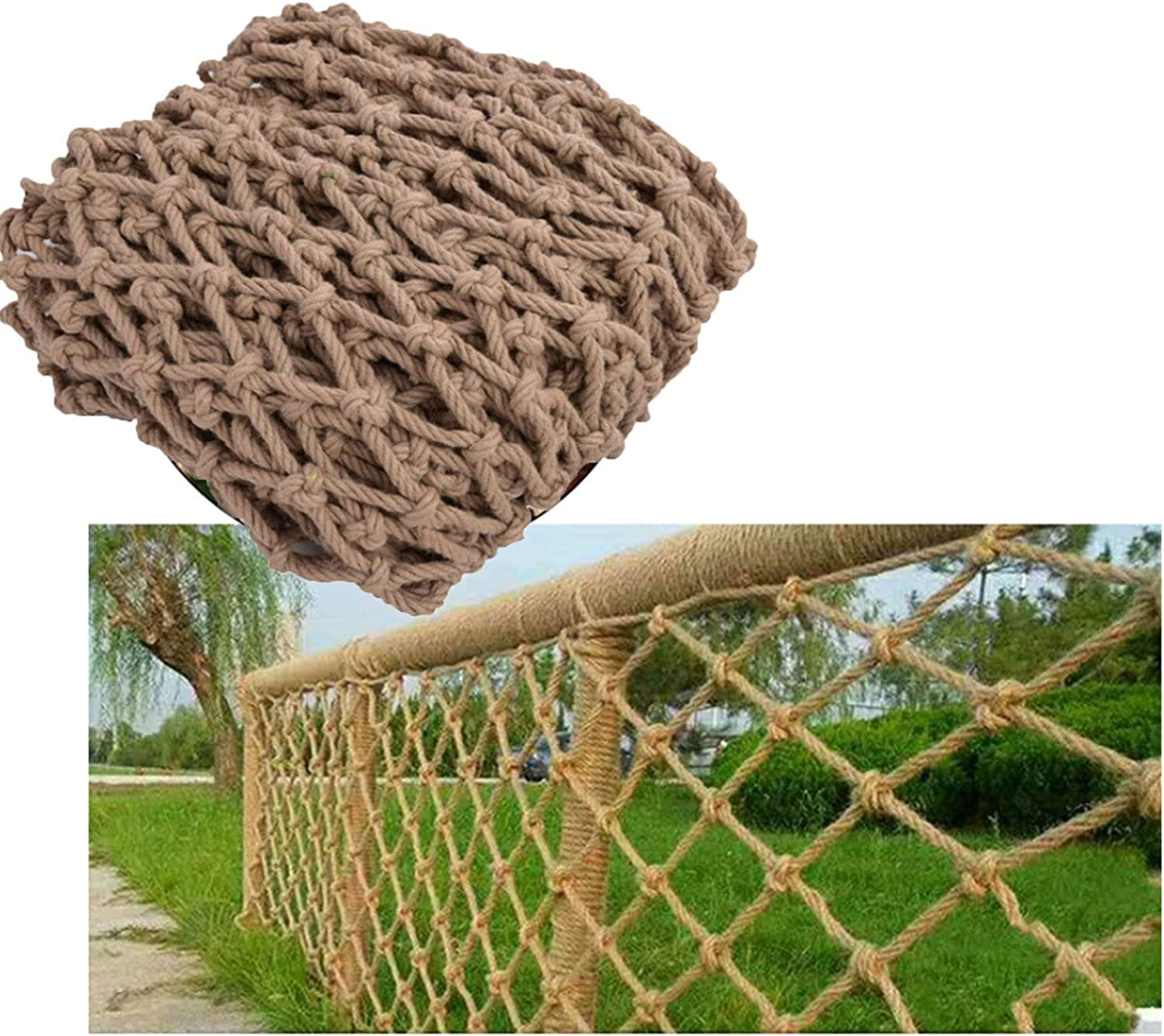 MBTY Tulsa Mall Rope Net Railing Balcony Manufacturer direct delivery Hemp Safety Child Outdoor