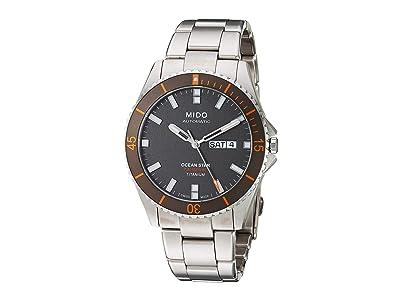 Mido Ocean Star Titanium Bracelet M0264304406100 (Anthracite) Watches