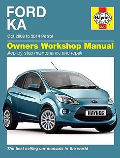 Haynes Workshop Manual For Ford Ka Petrol 2008 - 2014