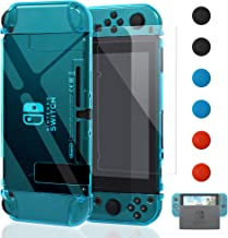 Dockable Case for Nintendo Switch [Updated],FYOUNG Protective Accessories Cover Case for..