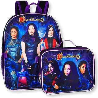 "Descendants Girl's 16"" Backpack W/Detachable Lunch Box"