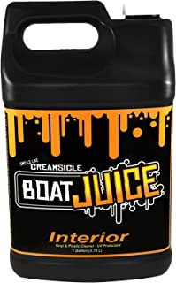 Boat Juice - 1 Gallon jug - Interior Boat Cleaner with UV protectant - Works Great on Upholstery, Vinyl, Plastic, Foam Flooring and Carpets