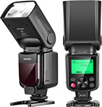 Neewer NW-670 TTL Flash Speedlite para Canon 7D Mark II, 5D Mark II III, IV, 1300D, 1200D, 1100D, 750D, 700D, 650D, 600D, 500D, 100D, 80D, 70D, 60D y Otras Cámaras DSLR Canon