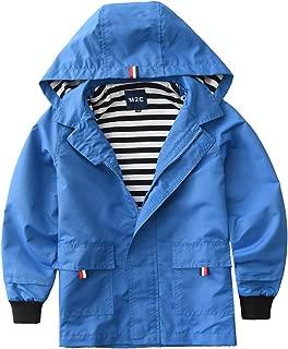 Boys & Girls Hooded Cotton Lined Jacket Outdoor Light Windbreaker