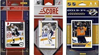 C&I Collectables NHL Nashville Predators 3 Different Licensed Trading Card Team Sets