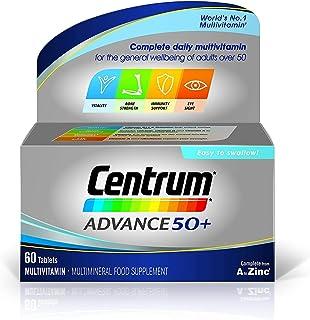 Centrum Advance 50 Plus Multivitamin Tablets, 60 Tablets