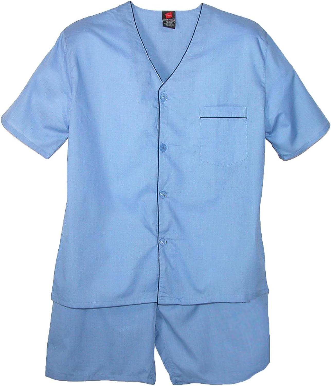 Hanes Men's Short Sleeve Max 70% OFF Pajama Set New products world's highest quality popular Leg