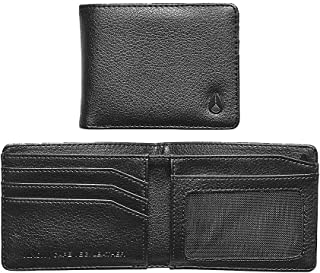 Cape Vegan Leather Wallet-Black