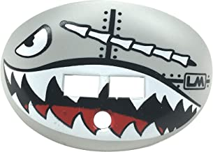 Loudmouth Football Mouth Guard   Military Flying Tiger Adult and Youth Mouth Guard   High Impact Mouth Piece for Sports   Dual Action Air Flow Mouth Guards   Pacifier Lip and Teeth Protector
