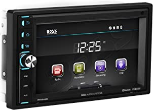 BOSS Audio Systems BV9349B Car Multimedia Receiver - Double Din, Bluetooth Audio Calling, 6.2 Inch LCD Touchscreen Monitor, MP3 Player, USB SD Ports, Aux Input, Am FM Radio Receiver, no CD DVD