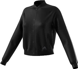 adidas Women's W Snap Jacket Hooded Tracksuit Jacket