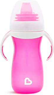 Munchkin Gentle Transition Sippy Cup with Trainer Handles, 10 oz, Pink