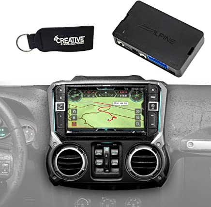 Alpine X209-WRA-OR 9-Inch Restyle System w/Off-Road