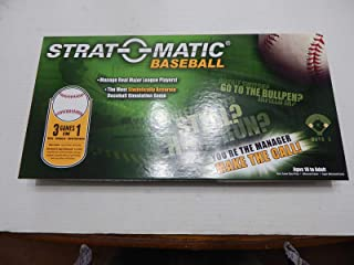 Strat-o-Matic Deluxe Baseball Revised Edition