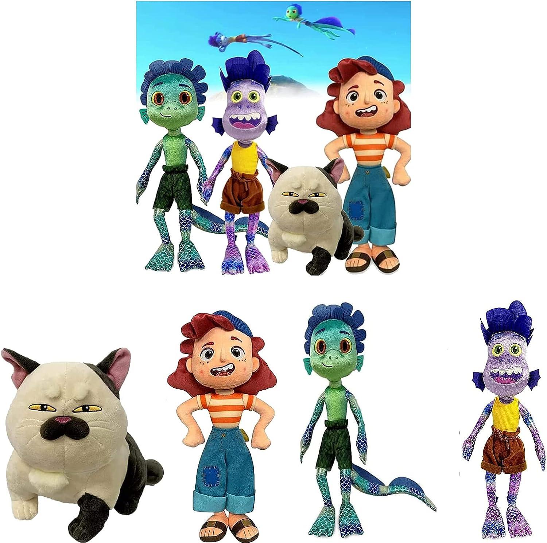 Max 72% OFF ZURITI Luca Max 76% OFF Alberto Sea Monster Plush Girl T Stuffed Purple Toy