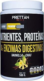 Nutrientes, Proteínas & Enzimas Digestivas (Vainilla Chai)