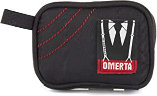 Omerta Boss - Smell Proof Zippered Bag w/Carbon Filter Technology | Odor and Smell Proof Pouch- Discreet and Sleek Design (5 inch with Lock)