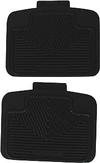 Highland 4603100 All-Weather Black Back Seat Floor Mat
