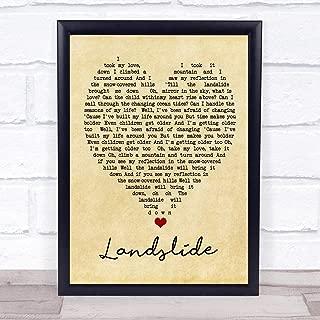 Best landslide lyrics print Reviews