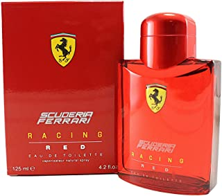 Ferrari Scuderia Racing Red Eau de Toilette Spray for Men, 4.2 Ounce