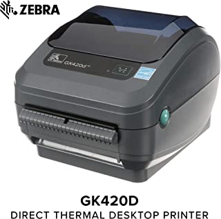 4.33 in Wide 1476 ft Long 1 in Core Zebra 6 Rolls Standard Black Wax Ribbon for Industrial Thermal Transfer Printers