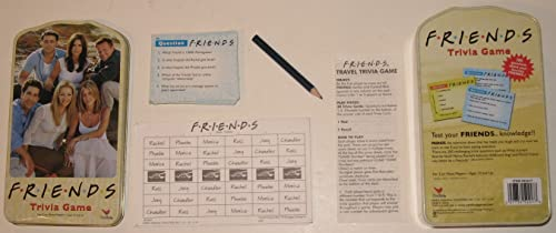 hasta un 65% de descuento Friends Trivia Game by Friends Friends Friends Trivia Game  directo de fábrica