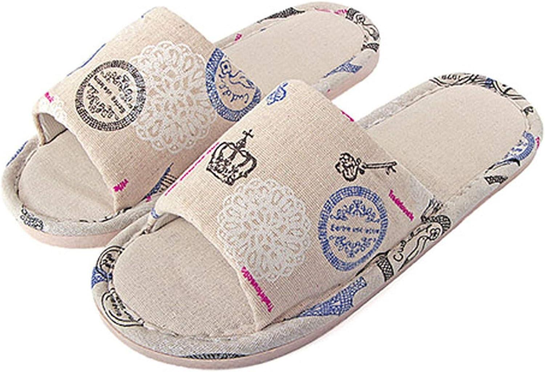 PilotageAuto Summer Cool Slippers Flats shoes Sweat-Proof Flip Flops Sandals Indoor Home Slipper