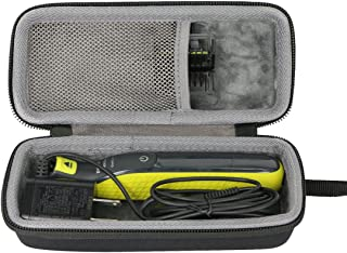 Hard Travel Case for Philips Norelco OneBlade QP2520/90 / QP2520/70 / QP2630/70 Hybrid Electric Trimmer Shaver by co2CREA (Case 1)