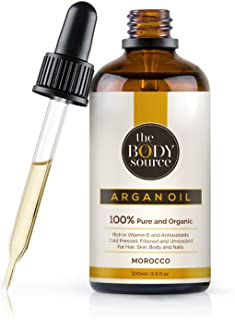 Argan Oil - 100% Pure and Organic - Cold Pressed, Extra