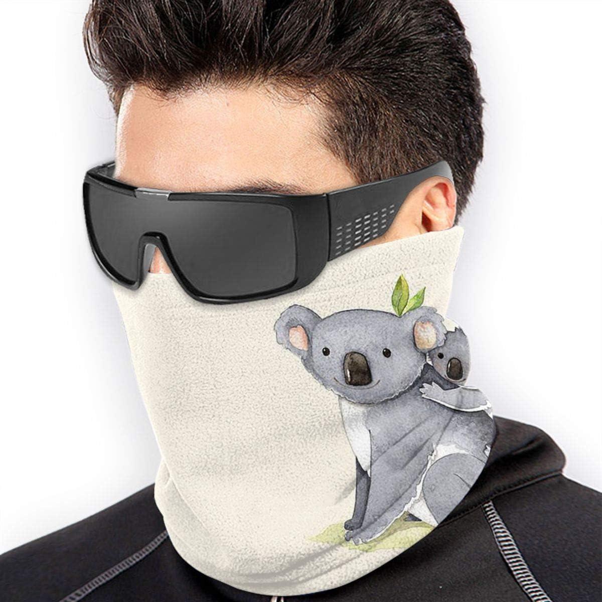 Koala Baby Neck Gaiter Headwear Headband Head Wrap Scarf Mask Neck/Ear Warmers Headbands Perfect For Winter Fishing, Hiking, Running, Motorcycle Etc& Daily Wear For Men And Women