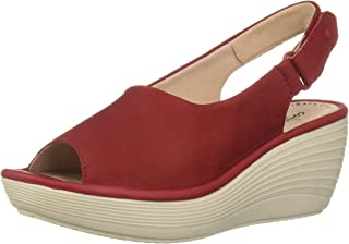 f4f29d57965 Amazon.com  Red - Platforms   Wedges   Sandals  Clothing