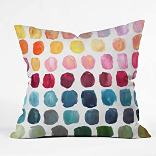 """Deny Designs Stephanie Corfee Color Palette Indoor Throw Pillow, 20"""" x 20"""""""