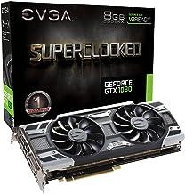 EVGA NVIDIA GTX 1080 - Memoria GDDR5X de 8 GB, Color Negro