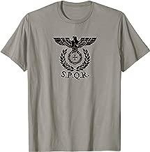 SPQR Eagle Standard Emblem of the Roman Empire T-Shirt